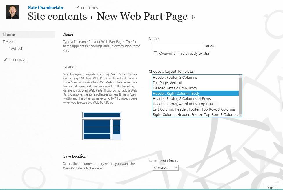 newwebpartpageoptions