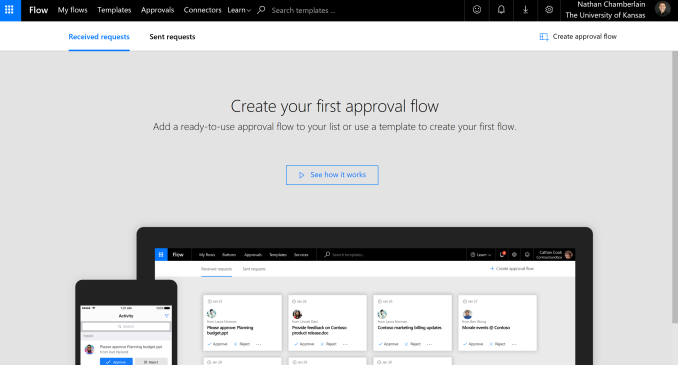 Microsoft flow approval of twitter tweet and facebook post this tutorial works for any microsoft flow connected social media platform but well specifically go through the steps for setting up a twitter tweet and pronofoot35fo Choice Image