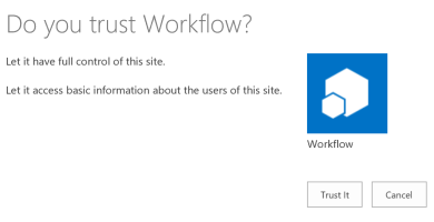 trustworkflow