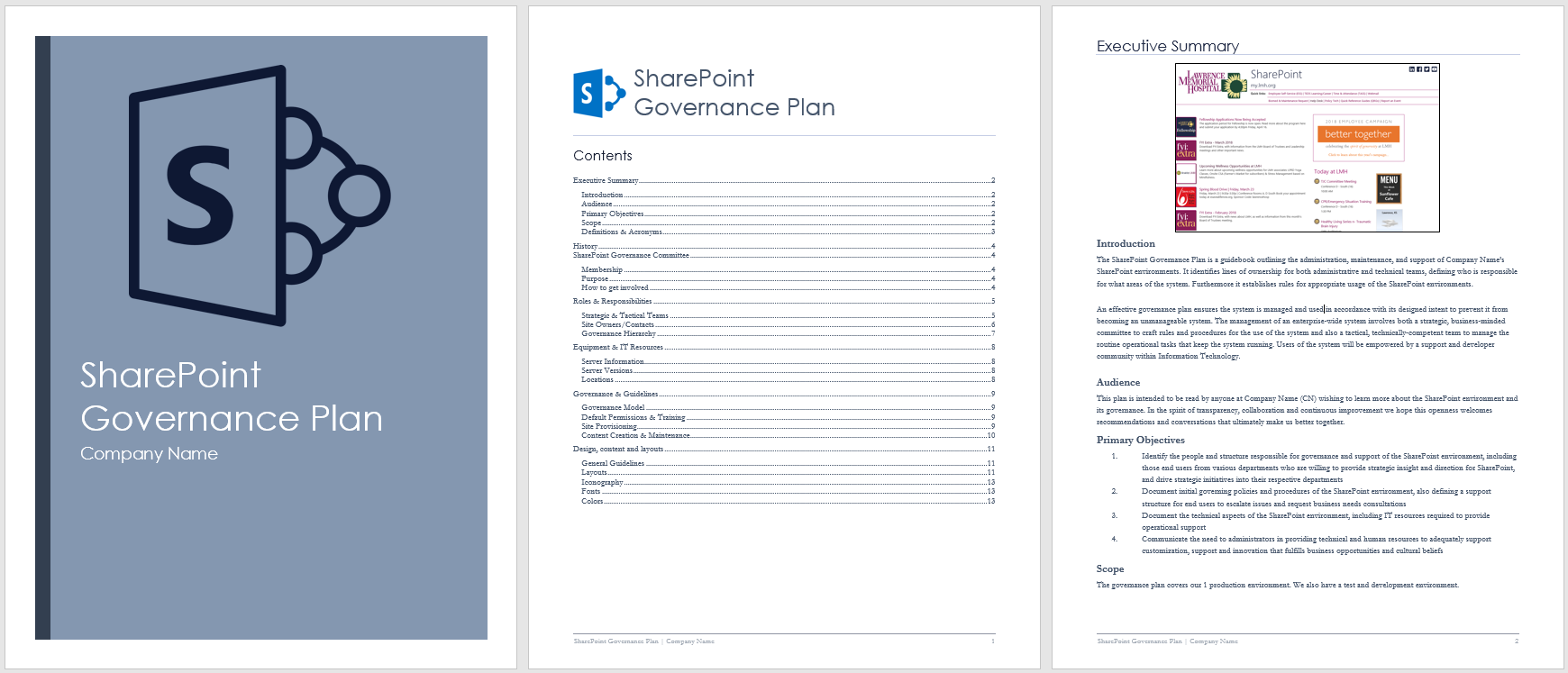 How to create a sharepoint governance plan includes for Sharepoint implementation plan template